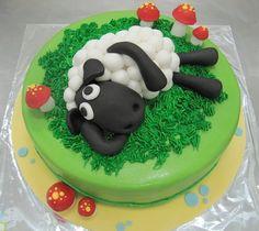sheep cakes | Shaun The Sheep Cake (30 ppl)