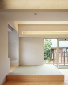 和室はここまでおしゃれにできる!現代の畳スペース5選|SUVACO(スバコ) 建築家:山岸綾「W邸」