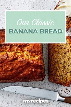 Our easy banana bread recipe is hands down the best. This classic recipe yields everything you want from a great banana bread: toasty sweetness, Easy Banana Bread, Banana Bread Recipes, Quick Bread, Baking Pans, Bread Baking, Baking Soda, Pretzel Rolls, Classic Recipe