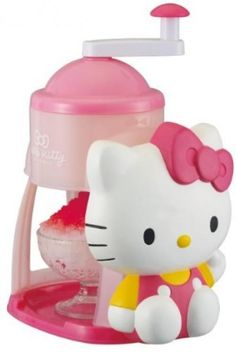 Hello Kitty shaved ice maker