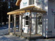 hip roof plans for a porch Porch Roof Plans, Pergola Plans, Diy Pergola, Pergola Kits, Pergola Ideas, Porch Ideas, Gazebo, Porch Roof Design, Hip Roof Design