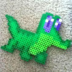 Gummy my little pony perler bead design