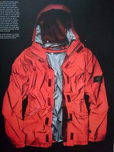 AIN'T KNOW - Stone Island Reflective Jacket F/W 92-93