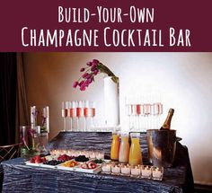 9 DIY Cocktail Bar Ideas for Parties