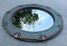 "Amazon.com - Stargate Mirror - Atlantis - Large 12"" Diameter -"