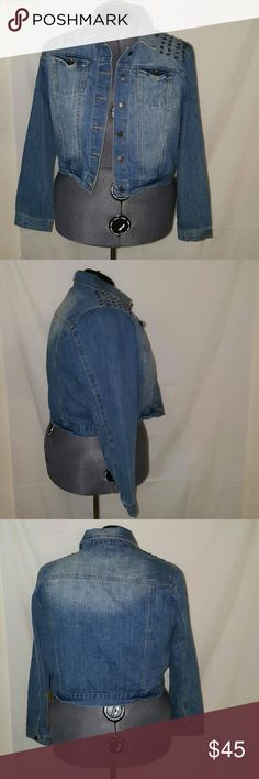 HIGHWAY JEANS BLUE LONG SLEEVE JEAN JACKET Size 2x 70% cotton 30% polyester Highway Jeans Jackets & Coats Jean Jackets
