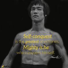 "For it is easy to criticize and break down the spirit of others, but to know yourself takes maybe a lifetime."" ~Bruce Lee"