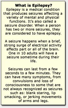 The basics on Epilepsy that many people are clueless about!  Repinned and no link