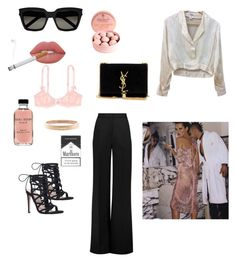 """Senza titolo #6"" by virginiadcoerezza on Polyvore featuring Yves Saint Laurent, Lime Crime, Roksanda, Bobbi Brown Cosmetics, Chanel, Carvela e L'Agent By Agent Provocateur"