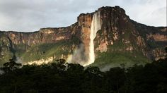 Venezuela - Angel Falls world's highest waterfall to see must take 5hour canoe trip- weather.com