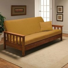Stretch Jersey Full Futon Cover in Yellow by Madison Home. $45.14. jer-fut-ye Features: -Yellow.-Fits a full size futon mattress.-Soft and comfortable jersey fabric.-Easy to take off and put on.-Machine wash and dry. Construction: -Constructed of 95pct polyester and 5pct spandex material. Collection: -Stretch Jersey collection.