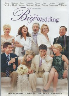 The Big Wedding (DVD, Like New) Katherine Heigl, Robert De Niro, Justin Zackham