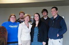 Tammy with the College Democrats of UW-Oshkosh