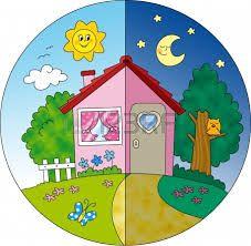 Slikovni rezultat za dia y noche infantil Drawing For Kids, Art For Kids, Crafts For Kids, Kindergarten Activities, Activities For Kids, Theme Days, Fathers Day Crafts, Kids Prints, Day For Night