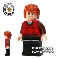 ((HAVE)) LEGO Harry Potter Mini Figure -  Ron Weasley Tartan