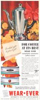 Wear-Ever Electric Coffee-Maker 1954 Ad Picture