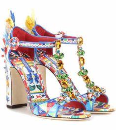 Embellished sandals | Dolce & Gabbana