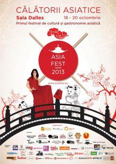 Festival de Cultura si Gastronomie Asiatica la Bucuresti!