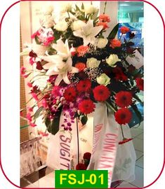 Toko Bunga Cengkareng Online Flower Shop, Jakarta, 4th Of July Wreath, Wedding Anniversary, Christmas Wreaths, Gift Wrapping, Table Decorations, Holiday Decor, Love