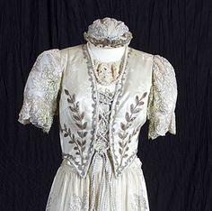 The diszmagyar, or Hungarian court dress