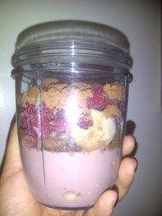 Making healthy icecream in the nutribullet