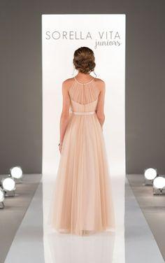 J4007 Juniors Tulle Bridesmaid Dresses by Sorella Vita