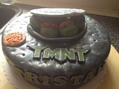 Tmnt cake fondant