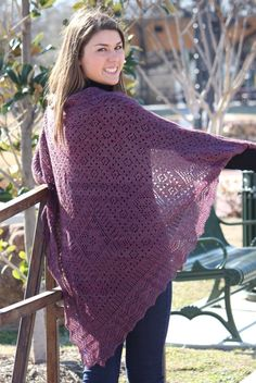 Shawl knitted from bottom to top along with traditional lace knitting techniques and Orenburg style lace motifs—yarn over and knit two together along with diagonal, honeycomb, peas, strawberry, large Lace Patterns, Knitting Patterns, Crochet Patterns, Crochet Shawls And Wraps, Knitted Shawls, Knitted Scarves, Knit Crochet, Crochet Hats, Arm Knitting