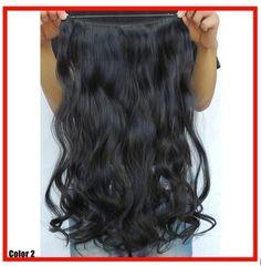 "NATURAL BLACK #1BJ HALO HAIR EXTENSIONS 22"" HOLIDAY HAIR #PrincessTressesHairExtensions #HairExtensions"