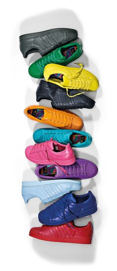 Adidas Shoes Different Colors