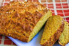 Recipe for Agave-Sweetened 100% Whole Wheat  Irish Soda Bread [from KalynsKitchen.com]