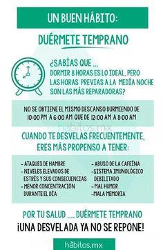 Buen hábitos: #infografía #salud #bienestar: