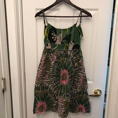 Charlotte Russe Print Sleeveless Dress Medium
