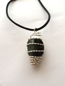 Easy Wire Jewelry: Make a Wire Gemstone Cage Pendant - Daily Beading Blogs - Blogs - Beading Daily