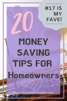 Owning your own home is expensive but there are ways to cut costs. Check out these money saving tips for homeowners so you're not spending too much! Ways To Save Money, Money Tips, Money Saving Tips, Saving Ideas, Savings Planner, Budget Planner, First Home Essentials, Buying First Home, Money Saving Challenge