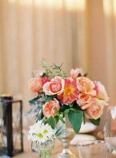 Floral Design: NLC Productions - nicosb.com Photography: Linda Chaja Photography - lindachaja.com Event Coordination + Design: Magnolia Event Design - magnoliaed.com  Read More: http://www.stylemepretty.com/2012/03/12/backyard-wedding-by-linda-chaja-photography-magnolia-event-design/
