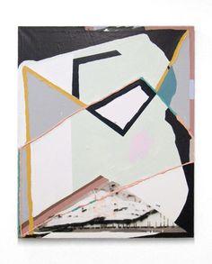 "Ian Swanson - Co-op - 2012 acrylic on canvas 40"" x 52"""