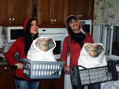 ET EXTRATERRESTRE disfraz disfraces carnaval carnival costume original easy fácil divertido funny mejor the best elliot