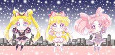 Sailor Moon Manga, Sailor Venus, Sailor Moon Halloween, Sailor Moon Character, Sailor Scouts, Moon Art, Magical Girl, Winter Christmas, Chibi