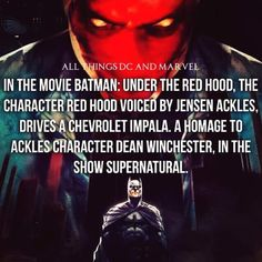 Batman/Supernatural