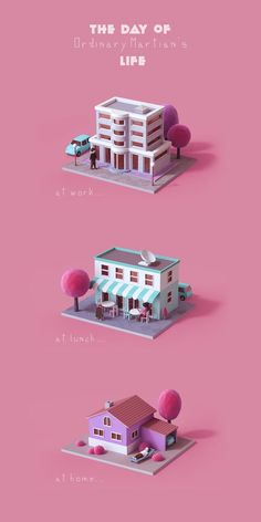 Martian personal project on Behance Isometric Art, Isometric Design, Design 3d, Game Design, Flyer Design, Blender 3d, Logos Tattoo, Drawing Heart, 3d Mode