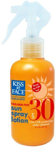 Kiss My Face Sunspray Lotion SPF 30, 8 Ounce « Holiday Adds