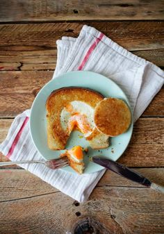Egg in a Hole    Eggs and toast make the most filling breakfast and here is a creative and delicious way to enjoy your toast and eggs. The Egg in a Hole is extremely easy to make; looks wonderful and taste delicious.  #EggInHole
