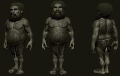 Cave man , amruth raju on ArtStation at https://www.artstation.com/artwork/L8Jw5