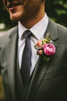 Ethereal diy wedding in dorset, england groom & groomsmen at Rustic Wedding Flowers, Floral Wedding, Wedding Bouquets, Wedding Centerpieces, Wedding Groom, Our Wedding, Dream Wedding, Wedding Story, Wedding Things