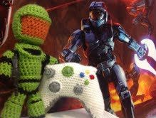 XBox 360 Controller And Halo Master Chief by SarahBethsBoutique, $7.49