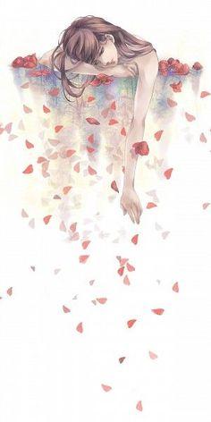 Kunst Zeichnungen - Tags: Anime, Pixiv, Pixiv Id 3508281 - Best Art Pins Art Anime Fille, Anime Art Girl, Anime Girls, Sad Girl Art, Sad Art, Anime Body, Anime Plus, Art Manga, Art Et Illustration