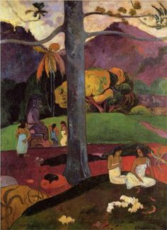 Olden times - Paul Gauguin