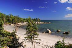 Port Joli, Nova Scotia, Canada, near Kejimkujik Seaside Park.