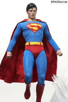 Superman: Superman (Christopher Reeve), Voll bewegliche Deluxe-Figur ... http://spaceart.de/produkte/sm001.php
